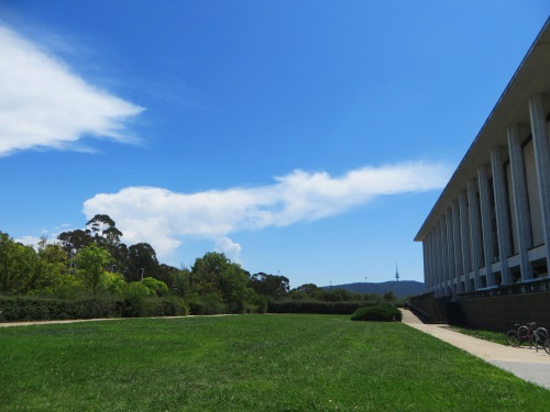 National Library of Australia in Canberra 12th February 2016 Sonya Oksana Heaney Summer Black Mountain Nature