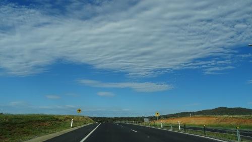 Sky over Queanbeyan and Canberra Australia 14th February 2016 Sonya Oksana Heaney Summer Clouds Nature Kangaroo Signs