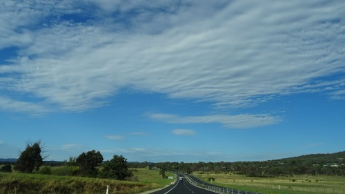 Sky over Queanbeyan and Canberra Australia 14th February 2016 Sonya Oksana Heaney Summer Clouds Nature