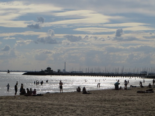 St Kilda Beach Melbourne Australia Sonya Heaney 17th March 2016