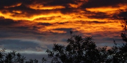 Wednesday Sunset Tuggeranong Canberra Australia Sonya Heaney 30th March 2016 Autumn Sky Clouds Nature2
