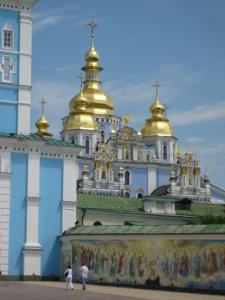 St Michael's Kyiv Ukraine Sonya Heaney.