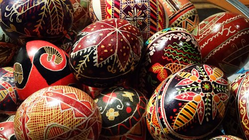 Pysanky Ukrainian Easter Eggs Sonya Heaney March 2016