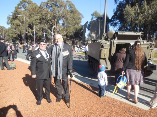 Battle of Long Tan Fiftieth Anniversary Commemoration Christopher Heaney Sonya Heaney 18th August 2016 Canberra Australia Anzac ParadeDSCN8142