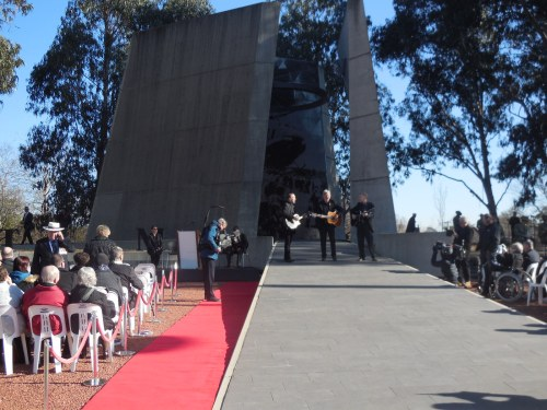 Battle of Long Tan Fiftieth Anniversary Commemoration Christopher Heaney Sonya Heaney 18th August 2016 Canberra Australia Anzac ParadeDSCN8155