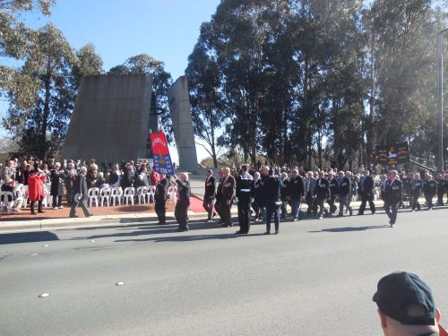 Battle of Long Tan Fiftieth Anniversary Commemoration Christopher Heaney Sonya Heaney 18th August 2016 Canberra Australia Anzac ParadeDSCN8164