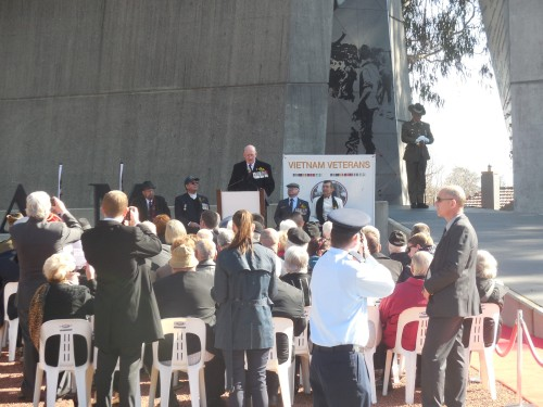Battle of Long Tan Fiftieth Anniversary Commemoration Christopher Heaney Sonya Heaney 18th August 2016 Canberra Australia Anzac ParadeDSCN8186