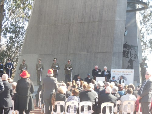 Battle of Long Tan Fiftieth Anniversary Commemoration Christopher Heaney Sonya Heaney 18th August 2016 Canberra Australia Anzac ParadeDSCN8195
