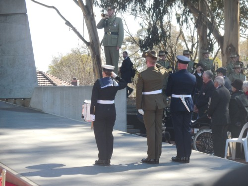 Battle of Long Tan Fiftieth Anniversary Commemoration Christopher Heaney Sonya Heaney 18th August 2016 Canberra Australia Anzac ParadeDSCN8208