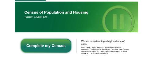 Census Fail Australia.