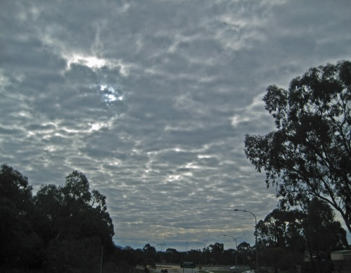 Winter Clouds Sky Sunday Afternoon Sonya Heaney Queanbeyan Australiaw 7th August 2016.