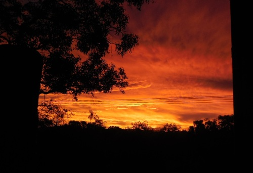 Canberra Australia Sunset Sonya Heaney Christopher Heaney Sky Clouds Nature