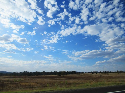 Driving from Canberra to Queanbeyan Sonya Heaney 12th March 2017 Sky Clouds Nature 2