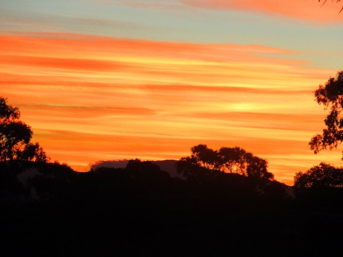Canberra Australia Autumn Sunset Sky Clouds Nature Sonya Heaney 27th May 2017 1