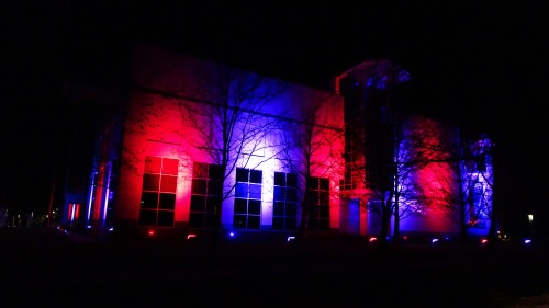 National Science and Technology Centre Canberra Australia for Canada Day 150 1st July 2017 Sonya Oksana Heaney Canadian Colours Night