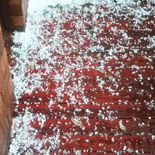 Hailstorm Canberra Australia 17th November 2017 Sonya Heaney Spring Weather Nature
