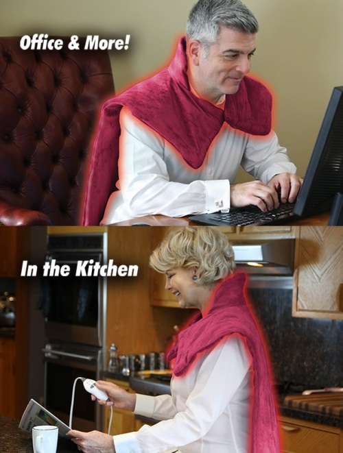 OfficeAndMoreINtheKitchenReliefWrapinfomercialad