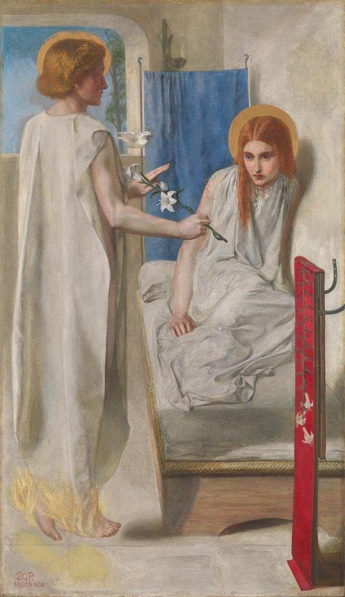 Dante Gabriel Rossetti Ecce ancilla domini! (The Annunciation) 1849-50