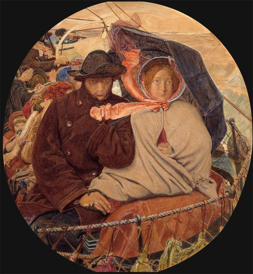 Ford Madox Brown The last of England 1864-66