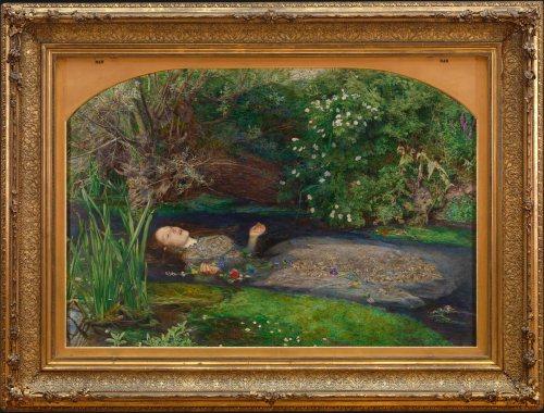 John Everett Millais Ophelia 1851-52
