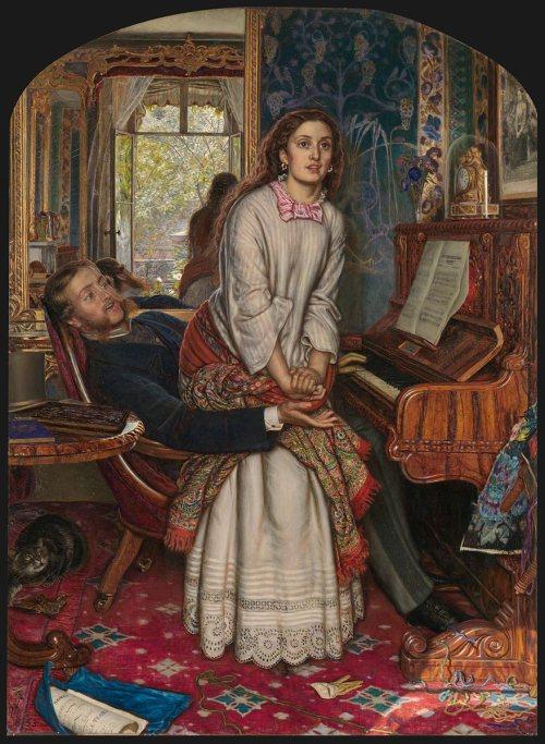 William Holman Hunt The awakening conscience 1853