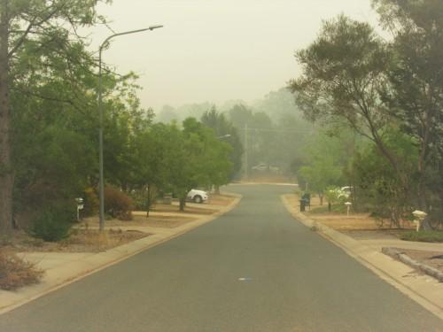 Severe world-record bushfire smoke Canberra Australia Sonya Heaney Tuggeranong 2nd January 2020