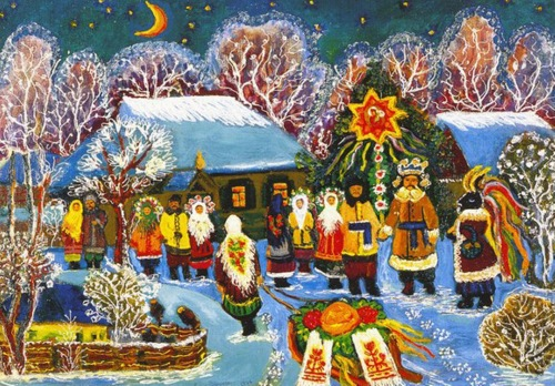 Ukrainian-home-decor Christmas New Year preparations in Ukraine Ukrainian recipes