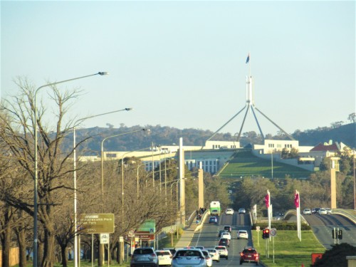 Canberra Australia Sonya Heaney 1st August 2020 Parliament House 1