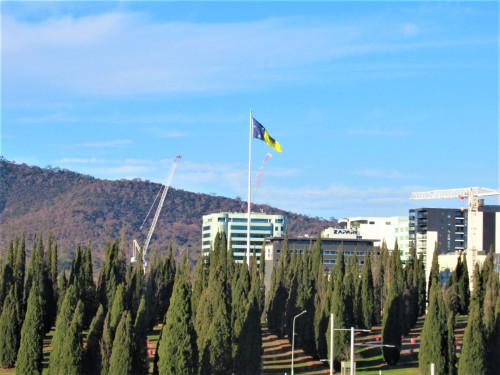 Ciity Hill Canberra Australia Sonya Heaney 1st August 2020